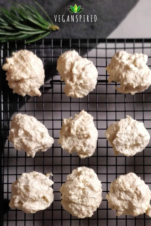 Vegane Kokosmakronen Rezept mit Aquafaba